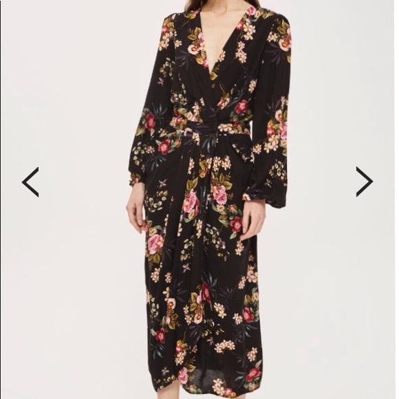 1c0a4b12ded Y.A.S. for TopShop Floral Maxi Dress